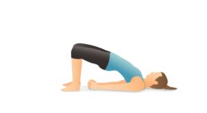 postura puente yoga